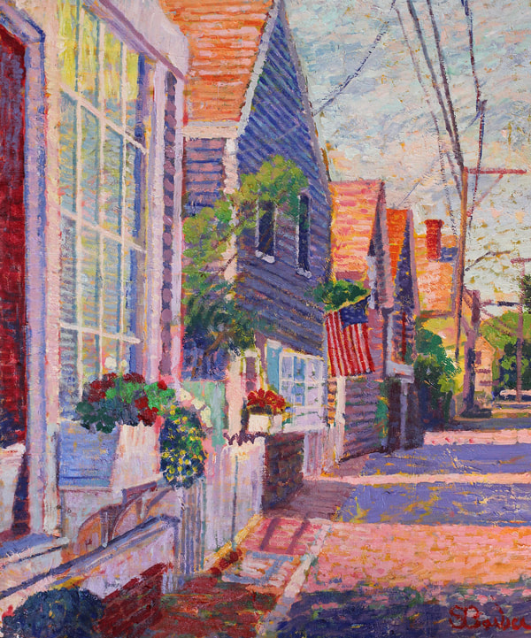 Sam Barber at Gallery Antonia, Chatham, MA, Cape Cod